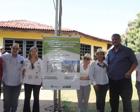 Programa habitacional foi apresentado pela Agehab/MS para a Aldeia Água Bonita - Foto: Inácio Benites