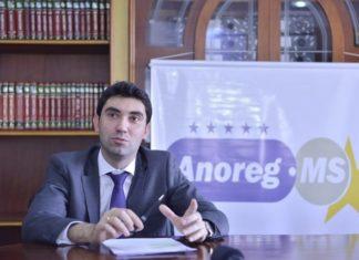 Lucas Zamperlini, diretor da Anoreg-MS - Divulgação