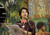 A conselheira do Tribunal de Contas do Estado de Mato Grosso do Sul foi escolhida para falar em nome dos homenageados - Divulgação