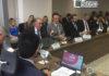 Governador Reinaldo Azambuja em reunião do Conselho Deliberativo do Desenvolvimento do Centro-Oeste, nesta quarta-feira, 27, em Brasília - Foto: Clodoaldo Silva