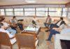 Reunião no Edifício Casa da Indústria tratou das vantagens competitivas que MS terá com a viabilização do corredor bioceânico rodoviário - Assessoria