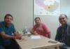 Silas durante reunião para decisão da obra - Divulgação