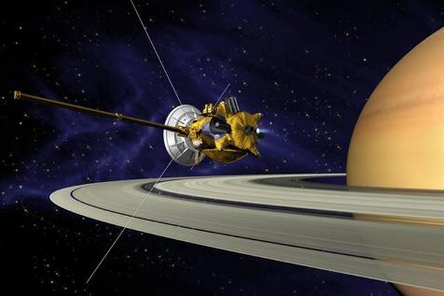 Sonda reuniu informações sobre o planeta e suas 53 luas – Foto: Epa
