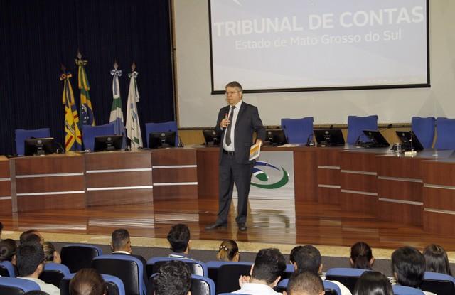 Vice-presidente do TCE de Mato Grosso, Luiz Henrique de Lima foi o palestrante – Assessoria