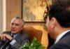 Presidente Michel Temer durante encontro com Lu Shun, presidente da China Three Gorges Corporation – Foto: Isac Nóbrega/PR