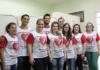 Colaboradores do Setor de Farmácia do HU-UFGD, durante campanha de cadastramento de doadores de medula óssea, atividade social dentro da programação da 3ª Semana de Farmácia – Divulgação