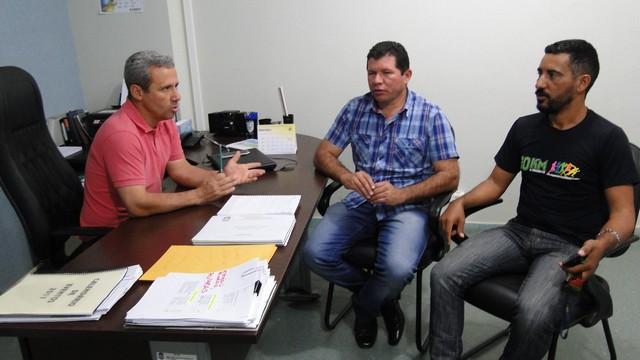Reunião na Funed definiu a logística da 1ª corrida de rua na vila São Pedro - Foto: Waldemar Gonçalves - Russo
