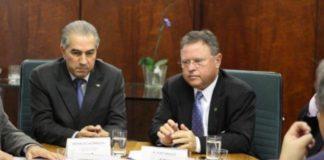 Governador Reinaldo Azambuja recepciona nesta quinta o ministro Blairo Maggi - Assessoria