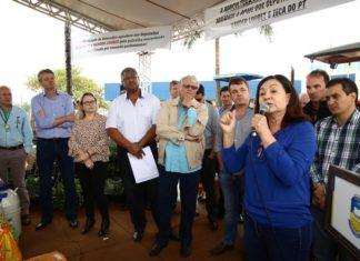 Entrega de patrulha mecanizada serviu para destacar as parcerias que a administração mantém buscando melhorar a vida dos douradenses - Foto: A. Frota