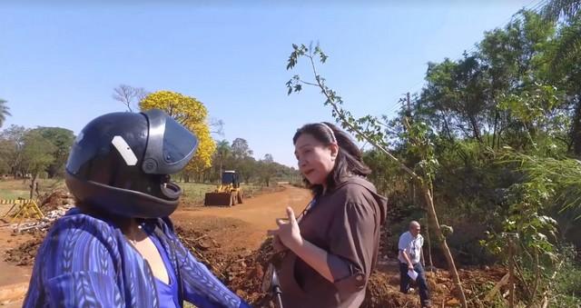 Prefeita Délia visitou o local e conversou com os moradores da região - Foto: Assecom