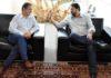 Sérgio Longen reunido com o prefeito de Sidrolândia, Marcelo Ascoli, nesta quarta-feira, 06, no Edifício Casa da Indústria - Divulgação