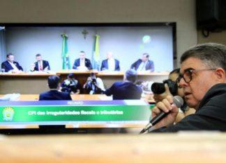 Secretário de Estado de Fazenda Márcio Monteiro depõe em oitiva na CPI da Irregularidades Fiscais - Foto: Wagner Guimarães