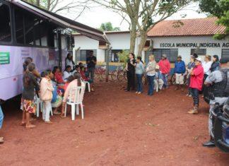 O Ônibus Lilás prestou atendimento às mulheres em situação de violência e, quando necessário, promoveu o encaminhamento - Foto: Assecom