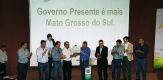 Com a presença do ministro Blairo Maggi, solenidade de adesão foi nesta quinta-feira, no Centro de Convenções Arquiteto Rubens Gil de Camillo - Foto: Edemir Rodrigues