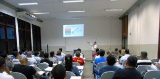 """Projeto """"Sistemas Fotovoltaicos"""" foi apresentado na noite desta quinta-feira no Senai de Corumbá - Divulgação"""