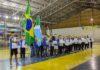 Abertura do evento teve a entrada das delegações - Divulgação
