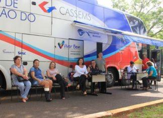 Somente no período da manhã, 52 servidoras da SAD realizaram exames preventivos e mamografia - Foto: Rejane Monteiro