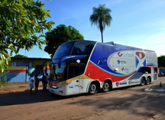 'Ônibus da Saúde' estará estacionado na sede do Creas, na Rua Maria Teixeira da Silva, 367, no Jardim das Palmeiras – Foto: Ernesto Franco
