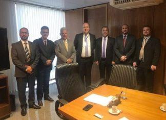 ACOMASUL e FENAPC em reunião em Brasília - Divulgação