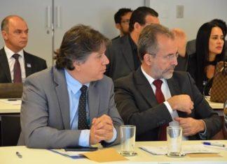 Caravina e Zé Cabelo durante a reunião - Foto: Divulgação