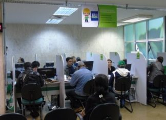 Casa do Trabalhador voltou às atividades das 7h30 às 13h30 diariamente – Foto: Edemir Rodrigues