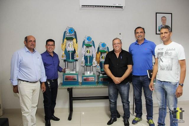 Representantes das equipes durante o arbitral - Foto: Edson Ribeiro