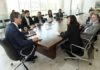 No mês passado, a prefeita Delia Razuk foi recebida por Beto Richa, no Gabinete do governador paranaense – Foto: Ricardo Almeida / ANPr