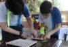 Jogos tradicionais de conhecimento matemático e tarefas fizeram parte da Gincana - Divulgação