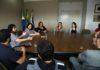 Prefeita Délia Razuk conversou abertamente com representantes da classe artística douradense - Foto: A. Frota