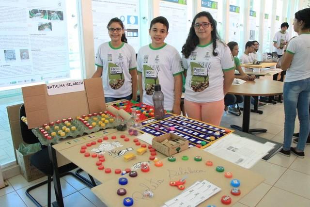 Feira de Ciência e Tecnologia de Três Lagoas 2017 - Divulgação