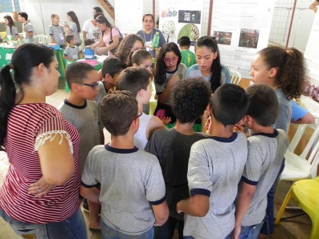 Feira recebe a visita das escolas de ensino fundamental de Nova Andradina – Foto: Cleyton Lutz