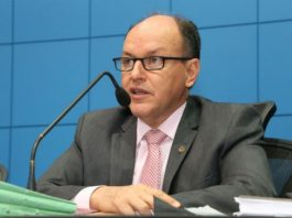 Deputado Junior Mochi(PMDB), presidente da ALMS - Assessoria