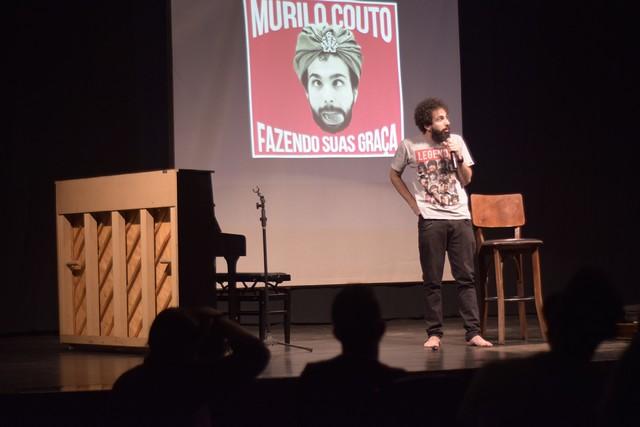 Show de Murilo Couto será dia 04 de novembro às 21h no Teatro Glauce Rocha - Divulgação