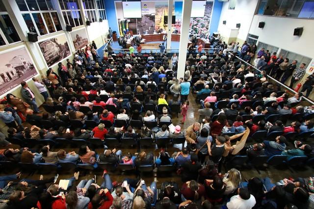 Os vereadores aprovaram cinco projetos de lei - Foto: Eder Gonçalves