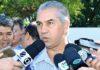 Governador Reinaldo Azambuja vai sancionar a lei na segunda-feira às 9h – Foto: Chico Ribeiro