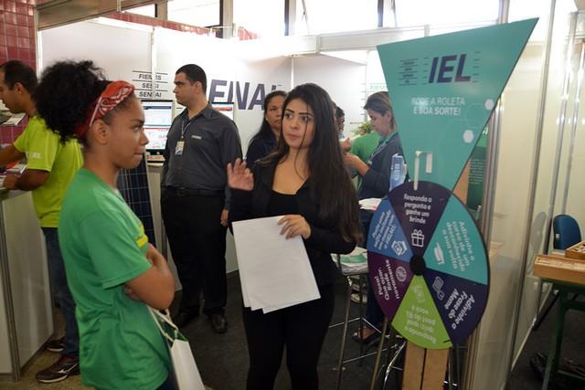 Estande apresenta serviços e produtos na área de educação e inovação oferecidos pelas três Casas - Divulgação