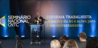 Sindicalistas de MS e de todo País participaram de Seminário em Brasília para discutir o impacto das mudanças - Assessoria