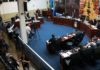 A sessão ordinária foi realizada no plenário da Câmara Municipal nesta segunda-feira (30) - Foto: Eder Gonçalves