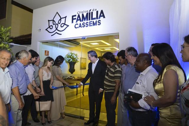 Clínica da Família foi inaugurada pela Cassems na noite desta segunda-feira, 16 - Foto: Messias Ferreira