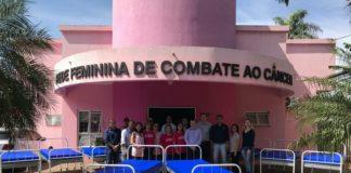 """Foram doados 8 camas hospitalares à Rede Feminina de Combate ao Câncer """"Valderez Oliveira"""" de Dourados - Assessoria"""