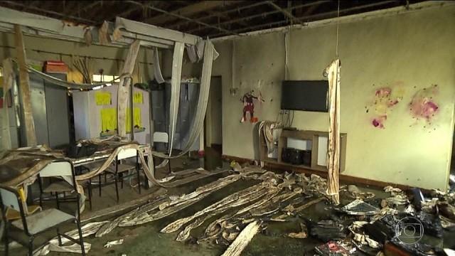 Tragédia em creche de Janaúba (MG) tem uma professora e cinco crianças mortas - Foto: Reprodução/TV Globo