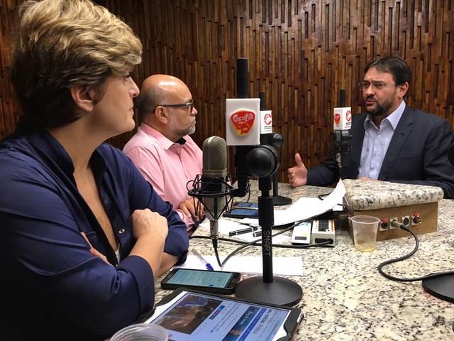 Presidente da Fiems concedeu entrevista nesta terça-feira ao programa Tribuna Livre, da Rádio Capital FM - Assessoria