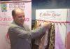 """Presidente da ALMS, deputado Junior Mochi na abertura oficial da Campanha """"Doe Lenços Outubro Rosa"""" – Assessoria ALMS"""