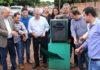 Reinaldo inaugurou obra de restauração asfáltica de diversas ruas do centro de Figueirão – Foto: Chico Ribeiro