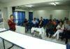Reunião no auditório do Sindicom teve a participação de representantes da CDL, Aced, Sindicom e Prefeitura de Dourados - Foto: A. Frota