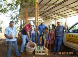 Banco de sementes crioulas foi implantado no Quilombo São Miguel, em Maracaju - Assessoria