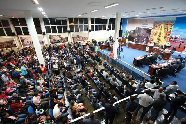 Os representantes e vereadores debateram sobre melhorias para o município - Foto: Eder Gonçalves