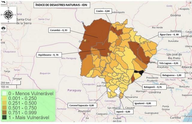 Software possui informações detalhadas sobre vulnerabilidade dos municípios em relação às questões climáticas - Foto: Folha Vitória