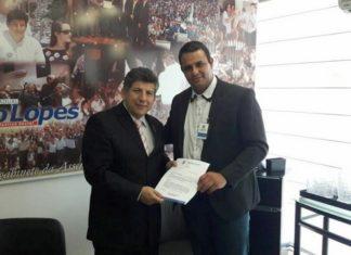 Carlito do Gás e o deputado estadual Lídio Lopes - Foto: Assessoria