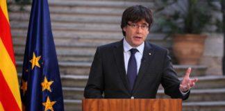 Ex-presidente Carles Puigdemont está na Bélgica e não compareceu na audiência – Foto: AP
